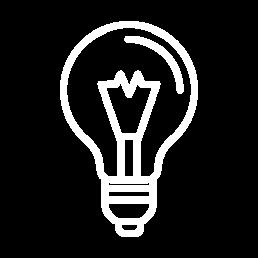 lightbulb hvid